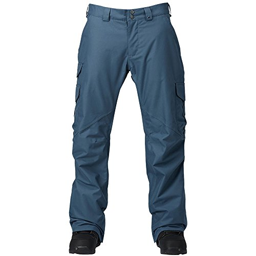 Burton Cargo Pant Herren-Snowboardhose Washed Blue 2017 Gr. XXL (Cargo Ski Pants)