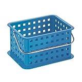 InterDesign - Canasta azul para spa