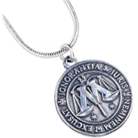 Producto oficial de Harry Potter Ministerio de magia del collar de la joyería