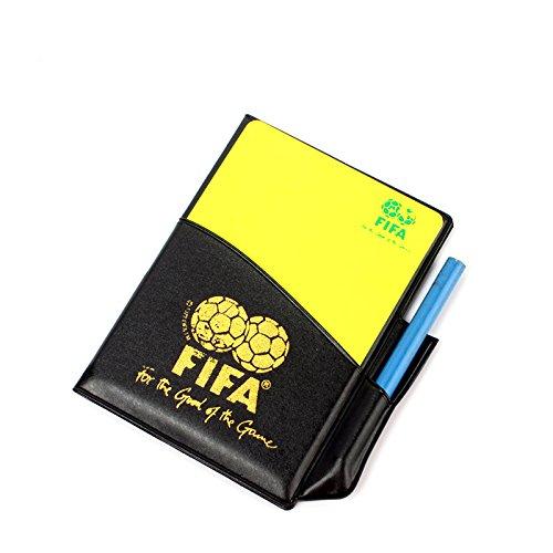 zhuotop Fußball Schiedsrichter Karten-Set rote Karte Gelbe Karte für Fußball Fußball