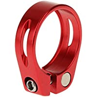 Aleación De Aluminio De 31,8 Mm Clip De Sujeción Rápida Liberación De Bicicleta De Montaña Asiento Posterior Roja