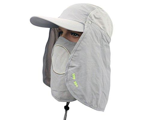 DSstyles Sombrero Sun 360 ° UV 50+ Protección...