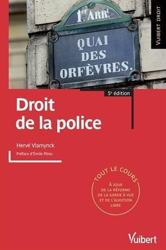 Droit de la police de Herv Vlamynck (29 aot 2014) Broch