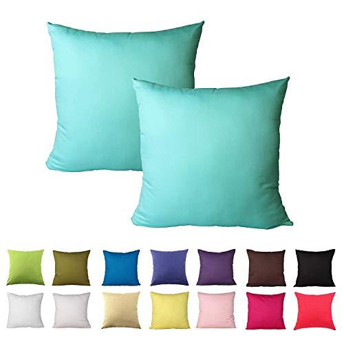 Comoco® - 2 Fundas cojín Decorativas sofá