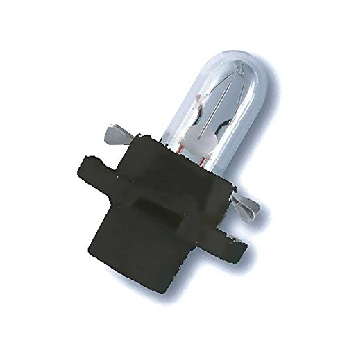 OSRAM Lampe 12V 1.2V Bx8.4d Sockel Tiefschwarz Weiss 4008321096852