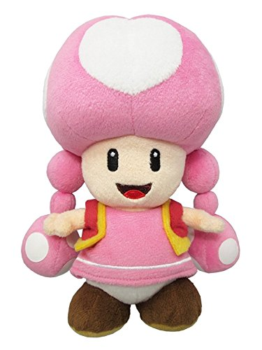 Little Buddy USA Super Mario All Star Collection 7.5' Toadette Plush