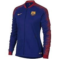 Nike FC Barcelona Anthem Chaqueta de Entrenamiento, otoño/Invierno, Mujer, Color Deep Royal Blue/Noble Red/University Gold, tamaño Extra-Small