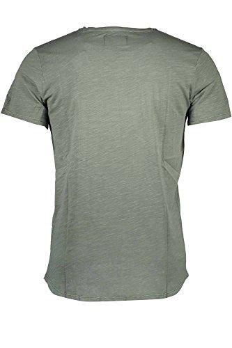 GUESS JEANS UOMO M72P63K4YI0 T-shirt Harren Grün