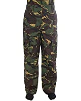 Kids Army Camouflage Combat Trousers - Ages 3-14 Yrs - Camo Combats