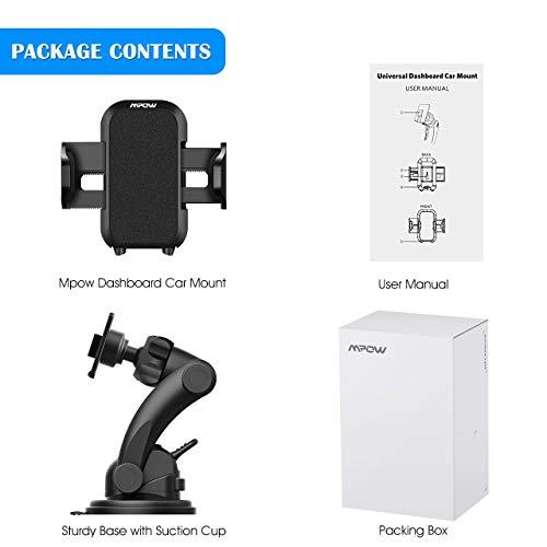 b271b4ed0aa Soporte de celular para coche Mpow Grip Pro 2 / soporte para coches /  soporte universal ajustable de teléfono ...
