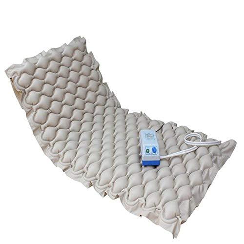 Colchón antiescaras, cama de aire inflable para el hogar Vuelta raquetas Atención médica para ancianos, almohadilla de cama inflable ayuda a aliviar las llagas de la cama