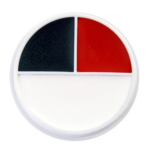 Ben Nye Color Makeup Wheels - Red, White, Black RB (3 Colors) by Ben Nye