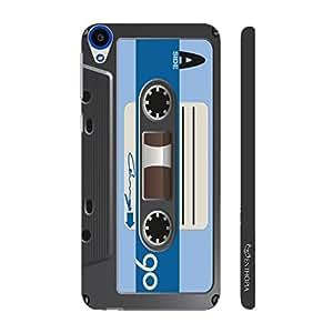 Enthopia Designer Hardshell Case Retro Cassette 7 Back Cover for HTC Desire 820