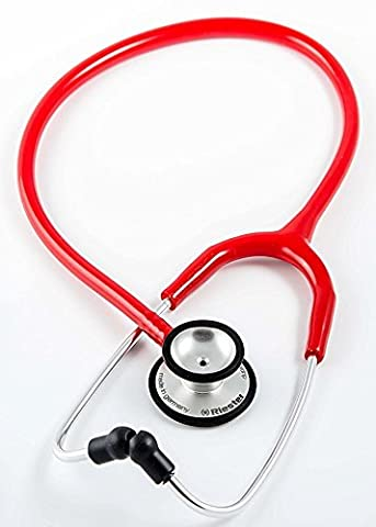 Riester 4210-04 Stethoscope duplex 2.0 red, stainless