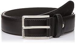 Peter England Mens Synthetic Belt (8907495894867_RL31791424_Medium_Black)