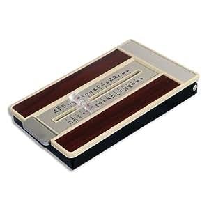 Pavo Répertoire téléphonique L7 x H10 x P2,5 cm Marron