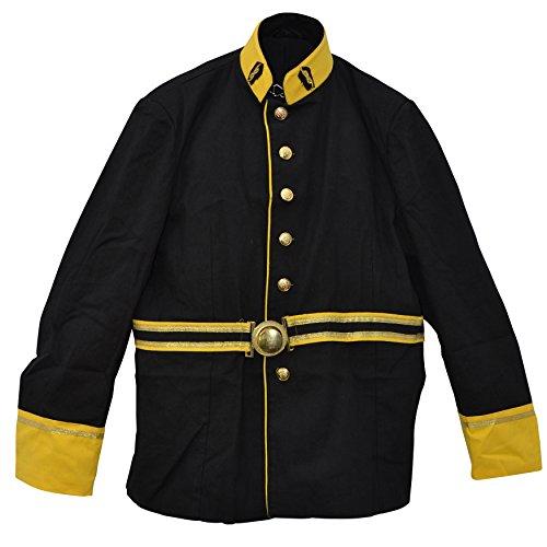 zoelibat-24005841008m-herren-sakko-uniformjacke-mit-breitem-gurtel-viele-details-gross-m-schwarz-gel