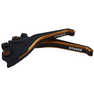 Bremshebelset STAGE6 CNC Yamaha Aerox/MBK Nitro orange