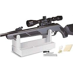 WQ-HUNTING, Kit de Nettoyage de Pistolet pneumatique pour Rack de Nettoyage pour Tampon/Tige/Brosse