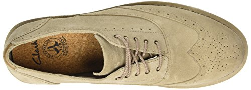 Clarks Darble Limit, Brogues homme Beige (Sand Suede)
