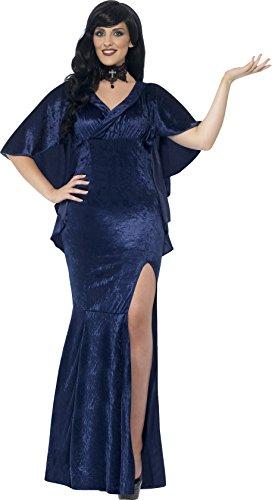 Smiffys, Damen Zauberin Kostüm, Kleid, Größe: X2, 44339