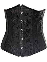 Lingerie: Corset underbust - para reducir cintura y torso- negro