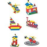 Toyztrend Expert Building Blocks for Kids, 180+ Pieces Blocks. let Your Kid Make Everything he/she Dreams of. Improves Logical Thinking and Cognitive Skills of Kids