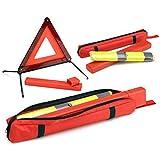 Givi S300 - Kit de triángulo y Chaleco de Emergencia para Royal Infeld homologado Safety