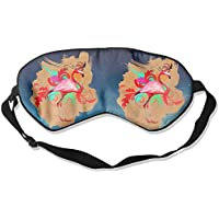 Flamingo-Art 99% Eyeshade Blinders Sleeping Eye Patch Eye Mask Blindfold For Travel Insomnia Meditation preisvergleich bei billige-tabletten.eu