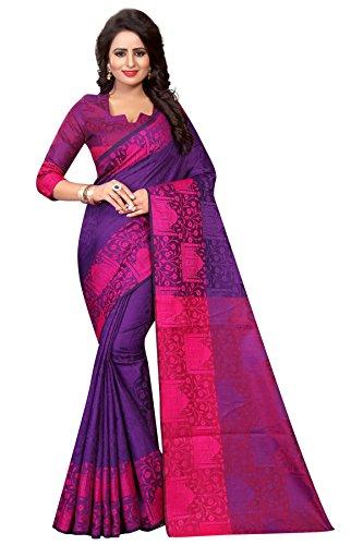 Being Banarasi Women's Party Wear Latest Design Jacquard Silk Saree(BB_5800_D)