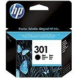 HP 301 CH561EE Cartuccia Originale, 190 Pagine, per HP DeskJet Serie 1000, 1050 1500, 2000, 2050, 25...