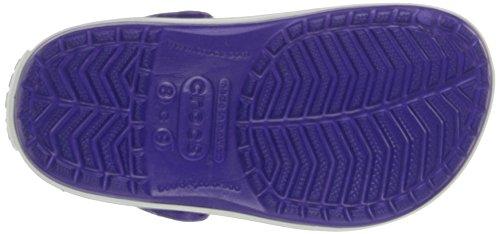 crocs Unisex-Kinder Crocband Kids Clogs Violett (Ultraviolet/White)