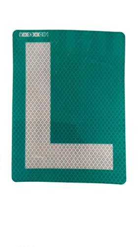 """Adesivo per auto con lettera """"L"""", per esterni, ideale per auto con vetri oscurati"""