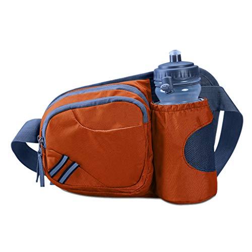 Zhao ying cintura sportiva in vita regolabile con cintura regolabile cintura sportiva leggera ultra traspirante borsa sportiva marsupio marsupio (colore : orange)