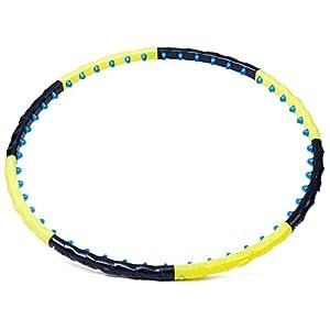 Hop-Sport Hula Hoop HS-4806 Reifen 48 Magneten Massagenoppen 0,9 kg Durchmesser 103cm