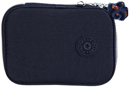 Kipling - 100 PENS - Large trousse - Bleu (True Blue) - (Bleu)