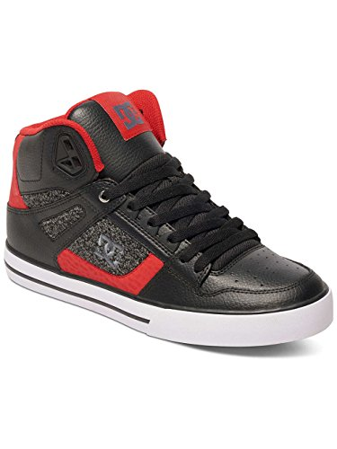 DC Universe Spartan High Wc, Baskets Basses Homme Noir - Black/Black/Red