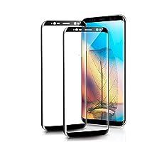 Condant [2-Pièces] Verre Trempé Samsung Galaxy S8/S9, Film Protection en Verre Trempé pour Samsung Galaxy S8/S9,Protecteur d'écran Galaxy S8/S9 Haute Transparence pour Samsung Galaxy S8/S9