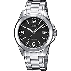 Casio Men's Analogue Quartz Watch with Stainless Steel Bracelet MTP-1259PD-1A