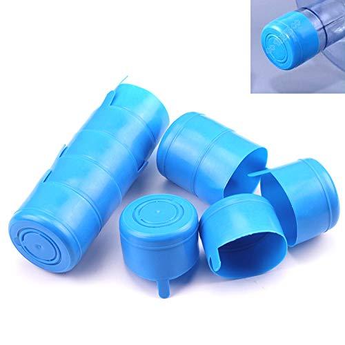 erwendbare Deckel Kappe für Wasserspender Tank Wasserflasche Snap On Verschluss für 55mm 3-5 Gallonen Wasserkrug ()