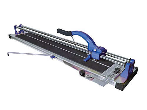 Using the simple score and snap operation, the Vitrex 630mm Pro Tile Cutter delivers clean cuts with very little amount of pressure.  The model is sturdily built yet it is still compact and lightweight for easy transportation. The cutting wheel is incredibly strong and durable thanks to the Tungsten Carbide material used on the wheel.