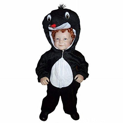 Maulwurf-Kostüm An47 für Babies und Klein-Kinder Faschingskostüme, Gr.-80-86/12-18 Monate, (Billig Last Minute Kostüm)