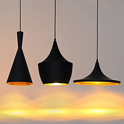 LongGu ABC lighting chandelier three simple musical instruments black and white restaurant cafe bar single creative personality chandelier,Three separate straight chassis