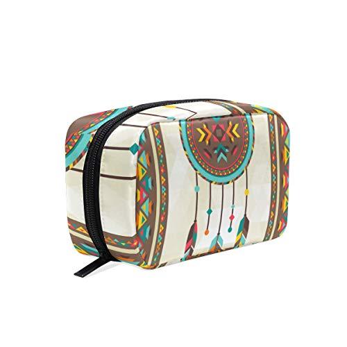 Mnsruu bolsas de maquillaje, atrapasueños, bolsa de viaje para cosméticos, neceser para mujeres y niñas