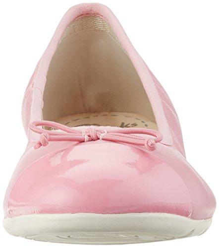 Clarks Dance Puff, Ballerines Fille Rose (Vintage Pink)