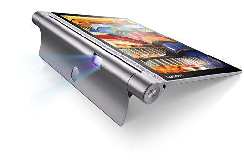 "Lenovo Yoga Tab3 Plus Tablet DE 10 1"" QHD (Procesador Qualcomm Snapdragon 652 RAM de 3GB 32GB de eMMC Camara Frontal de 13MP Sistema Operativo Android WiFi + Bluetooth 4.0) Color Gris"