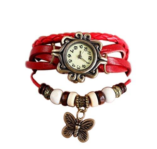 demarkt-retro-pulseras-de-reloj-para-mujeres-color-rojo