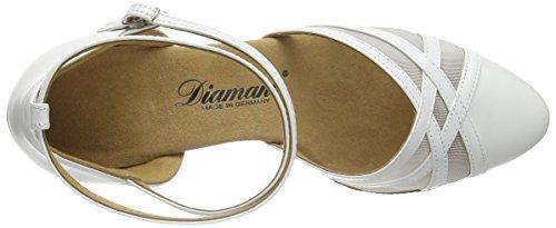 Diamant - Diamant Damen Tanzschuhe 147-068-391, Scarpe Da Ballo - Standard & Latino da donna Avorio (perlato weiß)