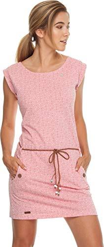 Ragwear Kleid Damen Tag DOTS 1911-20020 Rosa Coral 4005, Größe:S - Damen-dot