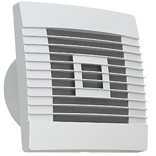 Lüfter Badlüfter Ventilator mit Nachlaufrelais und Bewegungsmelder  Ø 100, 120, 150 mm Prestige (Ø 100)